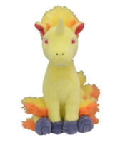 Pokemon Center Original Limited Plush Doll Pokemon fit Rapidash JAPAN IMPORT