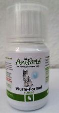 AniForte flüssige Wurm Formel 50ml für Katzen, natürliche Wurmkur für Katzen