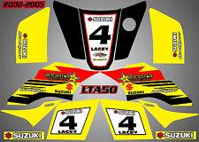 suzuki lta 50 quad graphics stickers decals rockstar laminate vinyl lta50