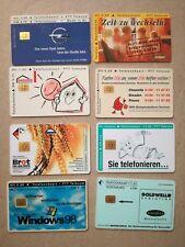 TK Telefonkarten Phonecard telefoonkaart 8 Stück selten Deutschland Niederlande