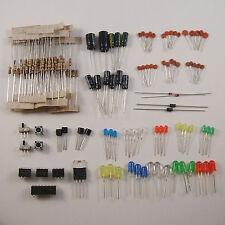 Electronics Parts Starter Kit: ICs, Capacitors, Transistors and More