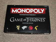 MONOPOLY GAME : GAME OF THRONES EDITION - NEW With SEALED CONTENTS (FREE UK P&P)