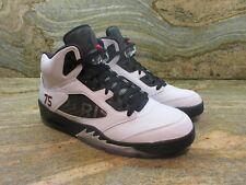 Unreleased Nike Air Jordan Retro 5 V Promo Sample SZ 9.5 White PSG PE Paris