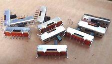 10 X Alpes SSSU 01138A unipolar 3 posiciones de interruptor deslizante 1P3W montaje de PCB 3 vías
