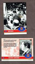 1972 Team Canada's Trainer Joe 'The Finger' Sgro Autographed Sinden Card
