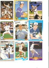 18 CARD JOHN CERUTTI BASEBALL CARD LOT            38