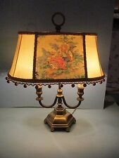 Vintage French Bouilette Lamp French Vanity Lamp Brass