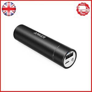 Anker PowerCore+ mini 3350mAh Lipstick-Sized External Battery Power Bank- BLACK