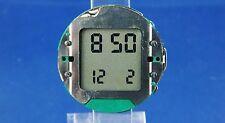 Reloj Digital de Colección Lcd De Cuarzo Suizo Movimiento de alarma 1970s Cal SEC 934.912 nos