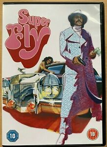 Superfly DVD 1972 Blaxpolitation Crime Classic with Curtis Mayfield Soundtrack
