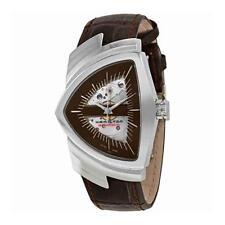 *BRAND NEW* Hamilton Women's Ventura Auto Brown Calf Leather   Watch H24515591