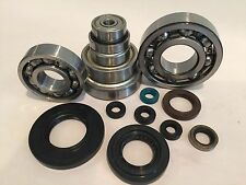 04 05 TRX450R TRX 450R Bottom End Crankcase Crankshaft Tranny Bearings Seals Kit