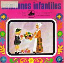 CANCIONES INFANTILES-LA TARA EP VINILO 1971 SPAIN B-B