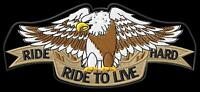Eagle Ride Hard Aigle ecusson brodé patche Thermocollant iron-on patch