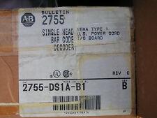 Allen Bradley 2755-DS1A-B1 Single Head Barcoder Decoder NEW in Box Free Shipping