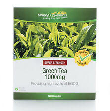 Green Tea Extract 1000mg | 120 Capsules | Diet Weight Loss Supplement