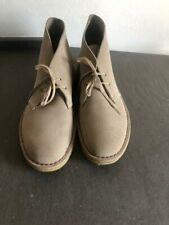 Clarks originali scarpe desert boot beige uomo tg 9,5-43/ man shoes