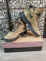 Vintage Nike Air Karst ACG Mens Size 8.5 US Brown Leather Hiking Boots 950810