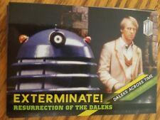 2016 Topps Doctor Who Timeless #4 Resurrection of the Daleks Daleks Across Time