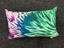 beautiful watercolour peacock print ZAAB cushion cover