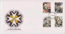 UNADDRESSED GB ROYAL MAIL FDC 1987 ST JOHN AMBULANCE STAMP SET WINDSOR PMK