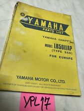 Yamaha 50 Chappy type 550 LB50IIAP catalogue pièces détachées parts list LB50 II