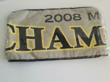 NEW in package 2008 Vintage Columbus Crew Scarf MLS Cup Champions grey