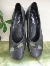Hotter Block Patternless Formal Heels for Women
