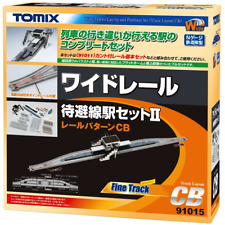 Tomix 91015 Wide Track Lay-by and Platform Set Track Layout CB - N