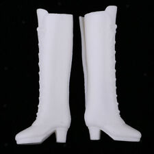 1/6 Scale Doll White Plastic Boots Rainshoes for Blythe Clothing Accessories