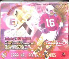1999 Skybox Fleer EX Football Sealed Hobby Box