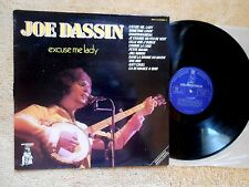 JOE DASSIN LP 33 tours 12'   EXCUSE ME LADY -  PICKWICK Mpd 214  Fr - VG+/EX