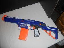 NERF Retaliator N Strike Elite Dart Gun Blaster with 12 round clip & Extensions