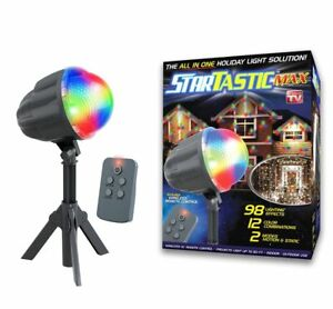 Startastic MAX Holiday Dancing Laser Light Projector-122 Effects! As Seen on TV