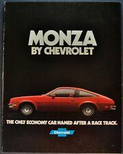 1978 Chevrolet Monza Rev. Brochure Spyder 2+2 Coupe Hatchback Excellent Original