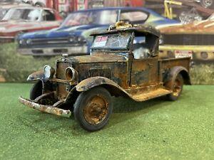 Barn Find Cars - Model Art: 1:24 1931 Chevrolet Pickup By Danbury Mint - Rusted