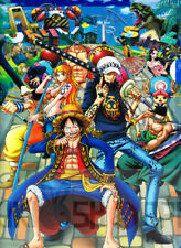 Poster A3 One Piece Luffy Zoro Sanji Franky Usopp Chopper Mugiwaras Nakamas 14