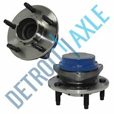 Pair: 2 New REAR 2003-07 Buick Rendezvous FWD Wheel Hub and Bearing no / ABS