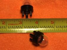 2 (two) Snap in Primer Fuel Bulbs  for Stihl Ryobi WALBRO HUSQVARNA etc.