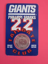 Phillippi Sparks Limited Edition New York Giants A&P Tailgate Club 1998 Coin