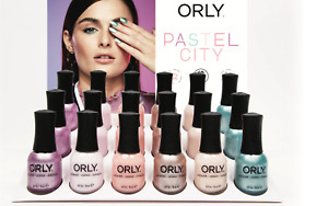 Orly Nail Lacquer - PASTEL CITY Collection 2017 - 6 Shades  20969-20974 x .6oz.