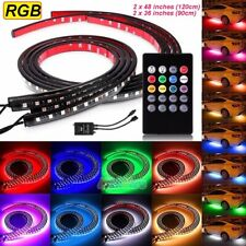 New listing 8 Colors Rgb Led Strips Under Car Underglow Underbody Music Control Neon Lights