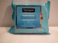 Neutrogena 25 lingettes nettoyantes /hydratent la peau & éliminent le maquillage