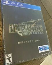 Final Fantasy VII Remake Deluxe Edition PlayStation 4 PS4