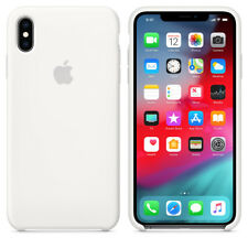 WHITE REAL ORIGINAL Apple Silicone Case iPhone XS Max