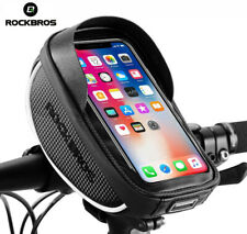 ROCKBROS Bike Phone Bag Bicycle Mount Bag Waterproof Handlebar Bike Phone Case