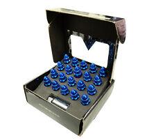 NRG STEEL LUG NUT 500 SERIES WITH BULLET SHAPED ENDS 12X1.5 BLUE HONDA ACURA