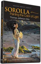 NEW: Thomas Jefferson Kitts: SOROLLA-Painting The Color Of Light - ART DVD