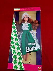 Irish Barbie Doll Special Edition 1994 Dolls of the World Collection Mattel NIB