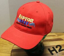 RAPTOR REEF INDOOR WATER PARK HAYDEN IDAHO RED HAT ADJUSTABLE EXCELLENT COND